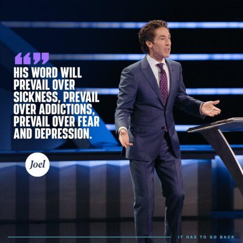 Joel Osteen Sermon: Ready To Rise