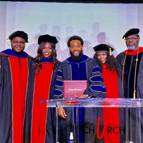 Pastor Damion Archat Graduation Picture