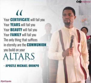 Apostle Michael Orokpo Messages On Holy Spirit