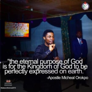Apostle Michael Orokpo Messages On Process