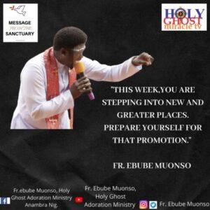 Rev. Fr. Emmanuel Obimma - My Year Of Victory