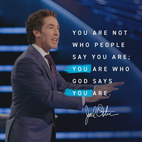 Joel Osteen Book - The Power of I Am