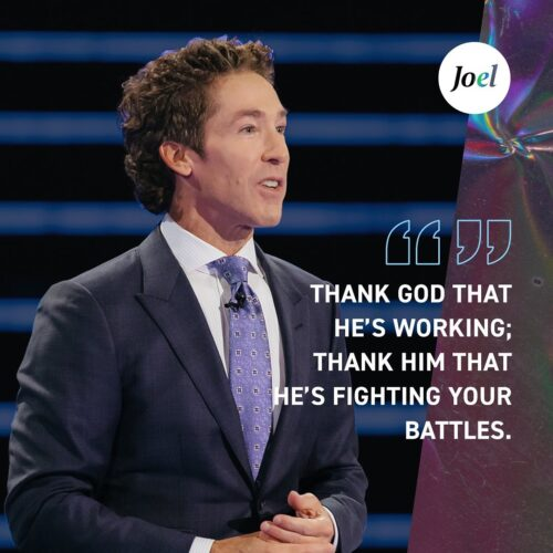 Joel Osteen Sermons - Trust God When You Don't Understand