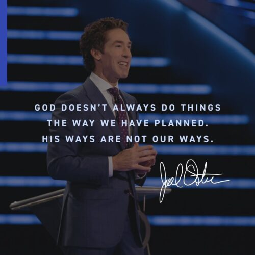 Joel Osteen -The Hot Winds Of Testing