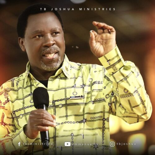 Prayer Request To Prophet TB Joshua