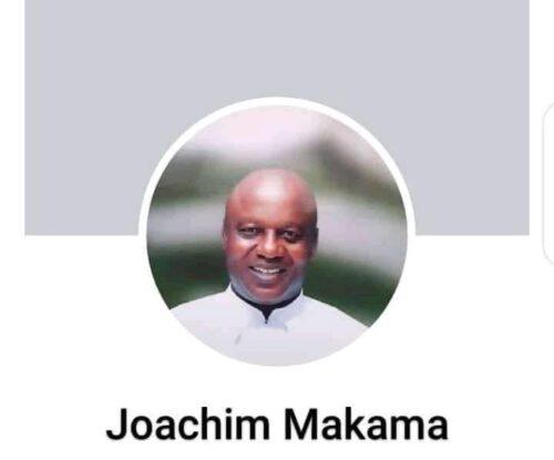 Rev fr. Joachim Makama