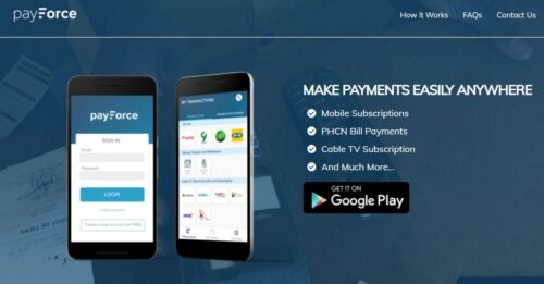 PayForce Mobile Agency Banking