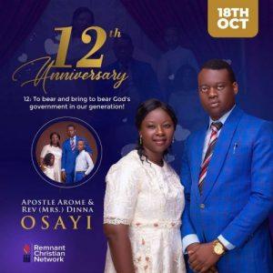 Apostle Arome Osayi Spiritual Father