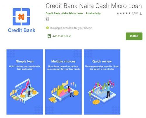 Customer Care: Credit Bank Loan App - Login and Register (Apk Download)