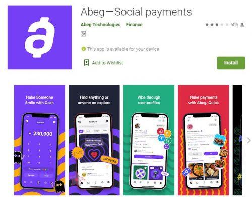 Customer Care Abeg App - https://abeg.app/ (Login and Register)