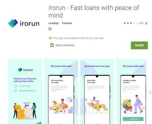 Customer Care: Irorun Loan App - WhatsApp Number - Email - Phone Number