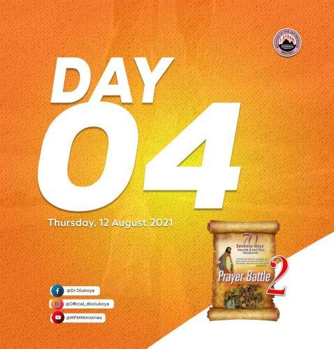 Prayer Points: MFM - 2021 70 Days Fasting - Day 4 (August 12 2021)