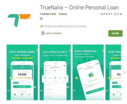 Customer Care: TrueNaira Loan App - WhatsApp Number - Email - Phone Number